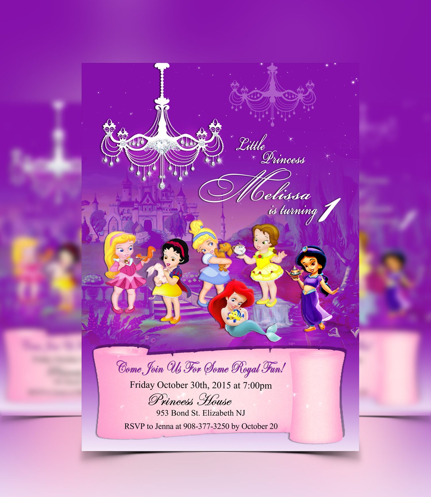 disney baby shower invitations